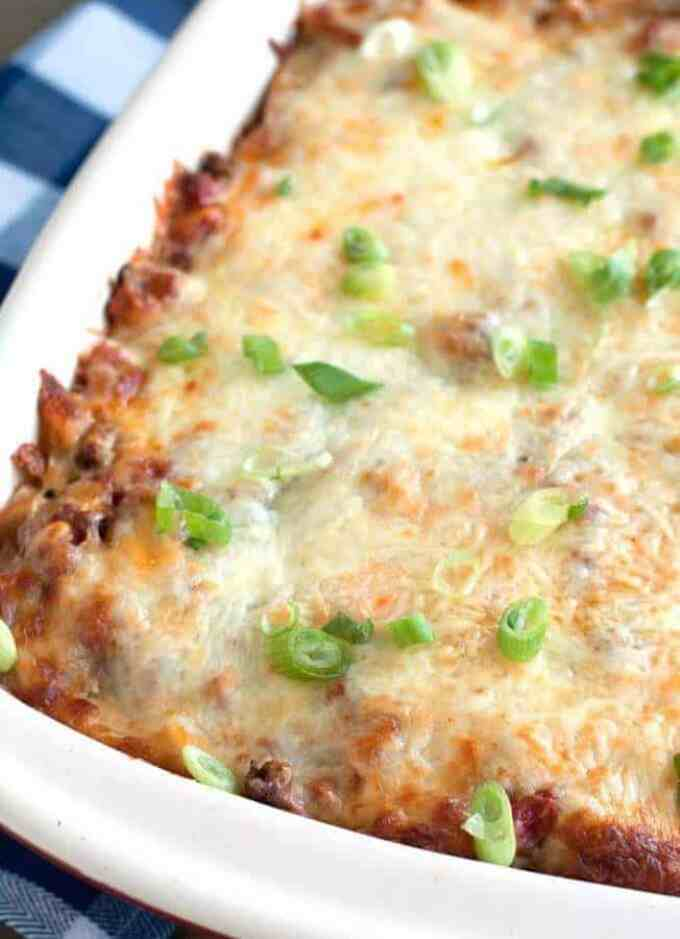 Ground Beef Pasta Casserole - The Best Blog Recipes