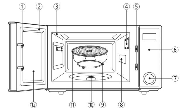 Sharp ZR309YK Features Diagram