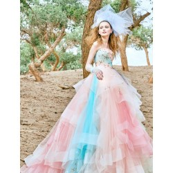 Small Crop Of Color Wedding Dresses
