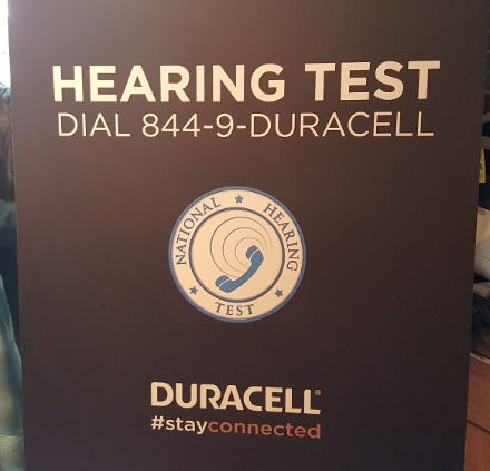 duracell is offering free hearing screenings