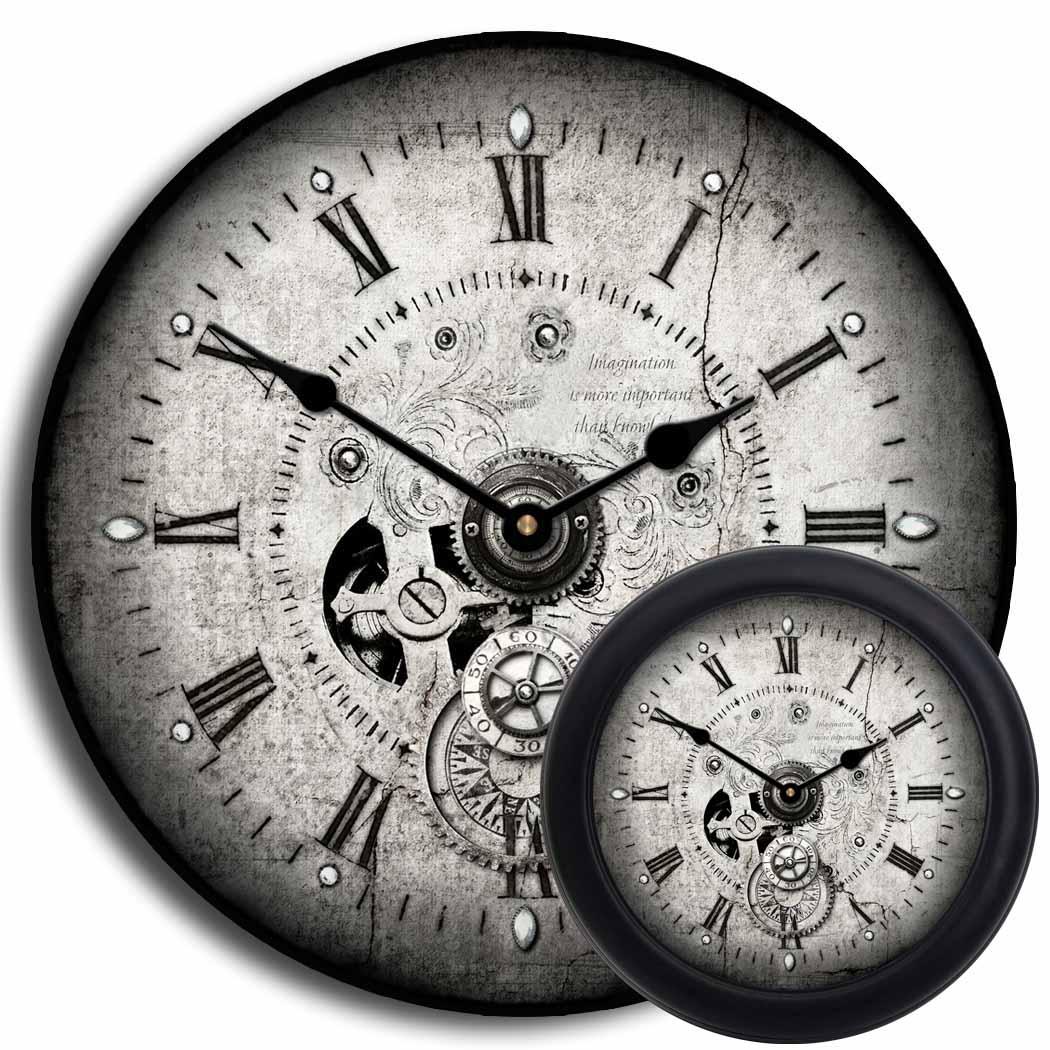 Fullsize Of Steampunk Wall Clock