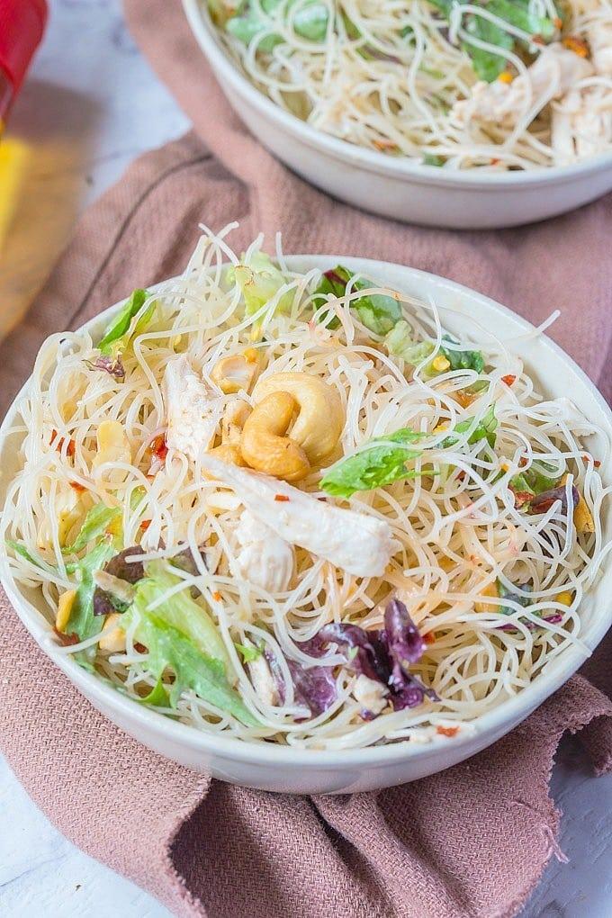 Paleo Vermicelli Salad