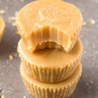 Healthy 3 Ingredient 2 Minute Freezer Fudge
