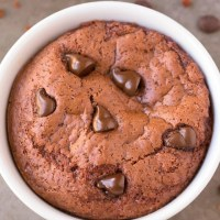 Healthy 1 Minute Low Carb Chocolate Mug Cake
