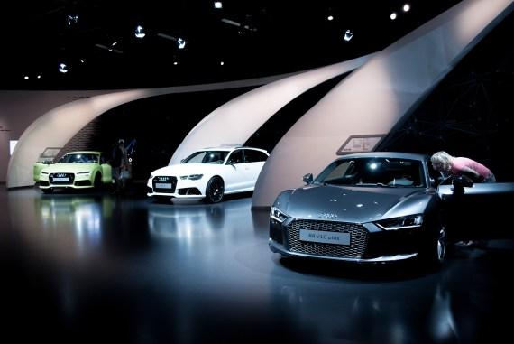 Autostadt Wolfsburg Audi Pavillon