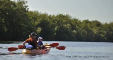 Kayaking the East River.