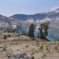 Trail 1806 at Glacier Lake, Eagle Cap Wilderness.