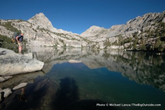 Lower Lamarck Lake, John Muir Wilderness.