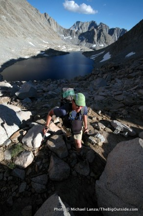 Alpine Col route, John Muir Wilderness.