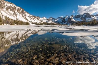 Alice Lake, Sawtooth Wilderness, Idaho.