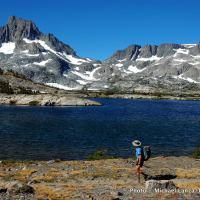 John Muir Trail, Thousand Islands Lake.