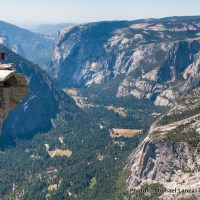 The Visor on Half Dome, Yosemite National Park.