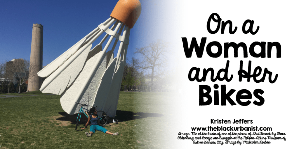 On a Woman and Her Bikes