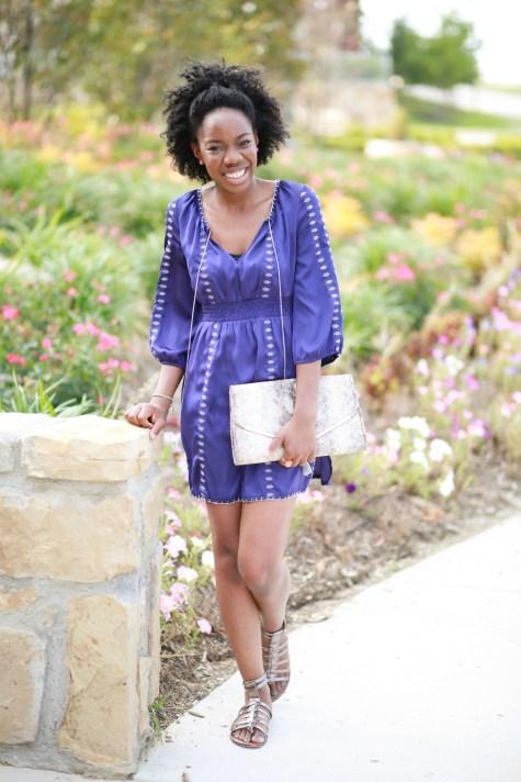 bohemian dress, boho chic, summer dress, bohemian dress, purple dress, boho, tassels, sandals, summer sandals, clutch,