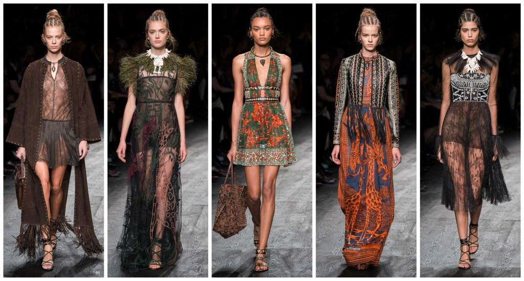 Valentino, Valentino runway, Valentino Spring 2016, Paris Fashion Week, PFW