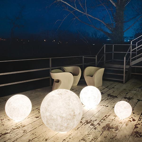 Ex Moon Floor Light by in-es.artdesign, available on Luxxdesign.com