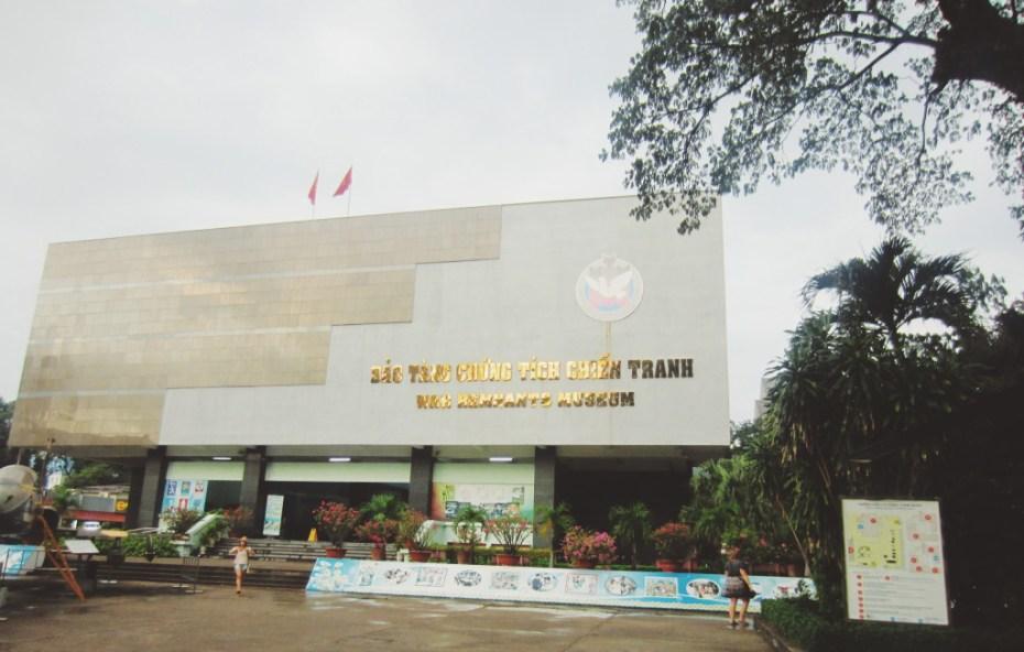 War Remnants Museum, Saigon, Vietnam