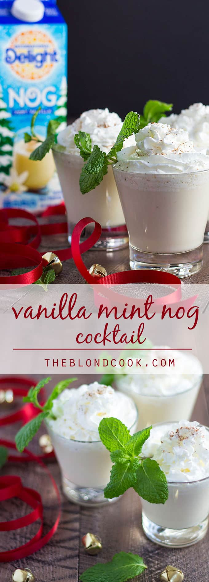 Tempting Peppermint Schnapps Make Ultimate Creamy Vanilla Mint Nog Cocktail Blond Cook Hot Peppermint Schnapps Drinks Peppermint Schnapps Drinks Holiday Vanilla Mint Nog Cocktail Vanilla Rum nice food Peppermint Schnapps Drinks
