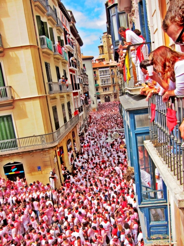 San Fermin Festival, Pamplona, Spain