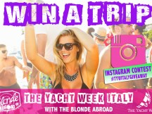 The Yacht Week Italy Giveaway Contest