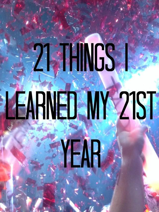 21 Things confetti
