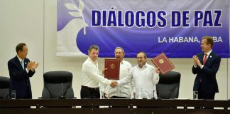 Colombian peace process, transitional zones
