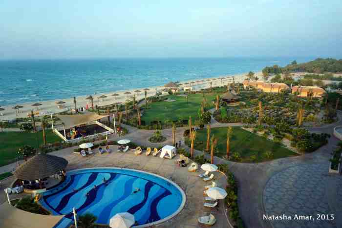 Danat Jebel Dhanna Resort