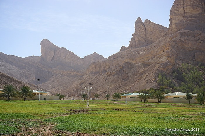 Green Mubazzarah Jebel Hafeet