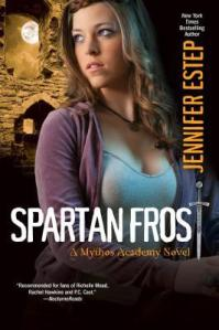 Review – Spartan Frost (Mythos Academy #4.5) by Jennifer Estep