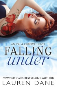 Review – Falling Under (Ink & Chrome #2) by Lauren Dane