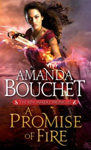 Joint Review: A Promise of Fire by Amanda Bouchet