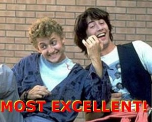 Bill and Ted Most Excellent
