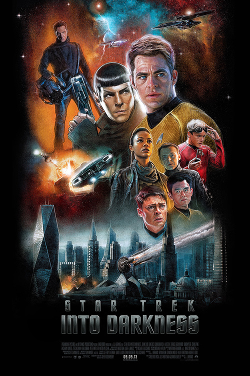 Star Trek Into Darkness by Paul Shipper