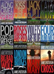 Alex Cross Series Books by James Patterson