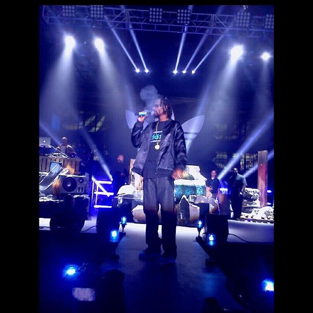 snoop dogg lion Boomcase stage adidas unitealloriginals unitela big sean araabmuzik concert LA