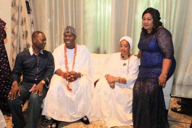Dr. & Mrs. Taiwo Afolabi with Imperial Majesty Oba Enitan Ogunwusi & Olori (3)