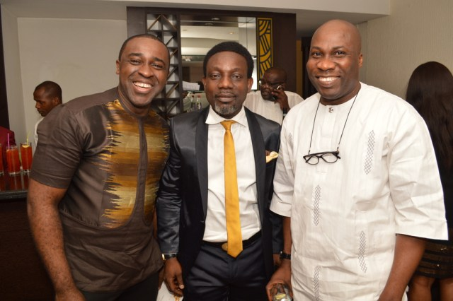 Frank Edoho, Segun Adebowale with Mike Effiong