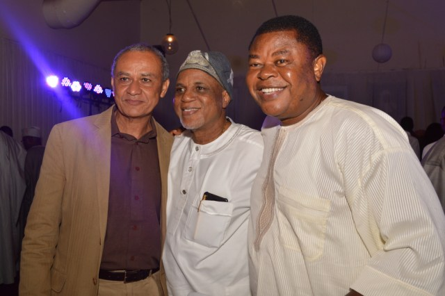 Mr.Charles Hammond, Mr.Biodun Shobanjo, with Prof.Isiekwe Mike