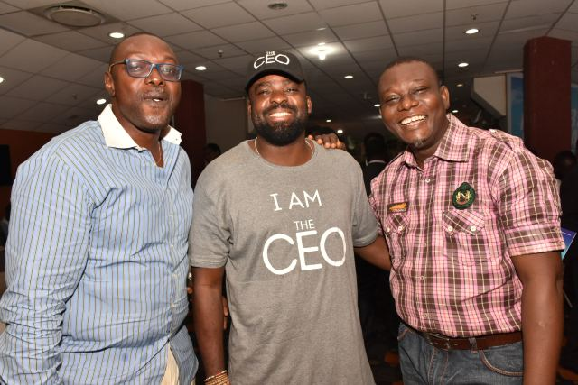 CEO, Ksquare Security, Kunle Komolafe, CEO,Golden Effect, Kunle Afolayan & Victor Akande