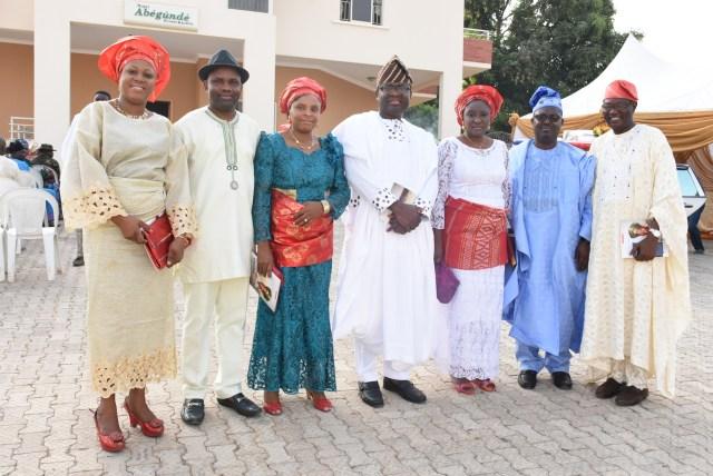 MRS. MOJISOLA OLASOKO, PASTOR & PASTOR (MRS) OMOMOLA, Mr. & Mrs. Abegunde, DEAC FEMI ADEJEBI. & Prof. Taiwo Adewole