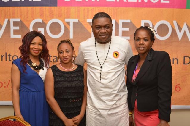 Ekemini Akpakpa, Vanessa Obioha, Hon. Elisha Attai wirh Gloria Oshiomouwa-Daniels