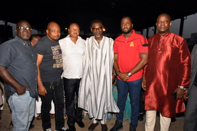 Jide Kosoko & members of movie producers