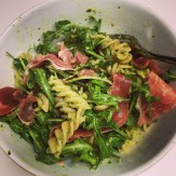 With Wholewheat Pasta & Parma Ham