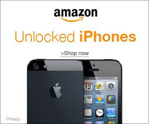 Unlocked iPhones from Amazon