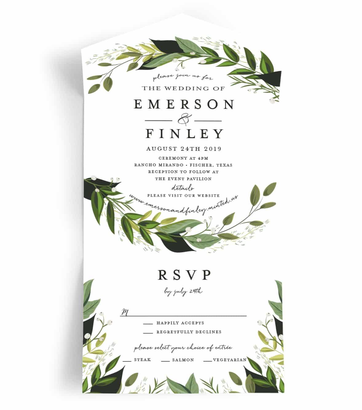 Fullsize Of All In One Wedding Invitations