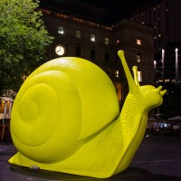 Bright-Coloured Snails Invade Sydney