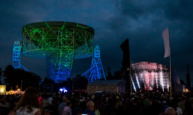 Macclesfield, ENGLAND - JULY 23:  Bluedot Festival at Jodrell Bank on July 22, 2016 in Macclesfield, England.  (Photo by Tony Woolliscroft/WireImage)