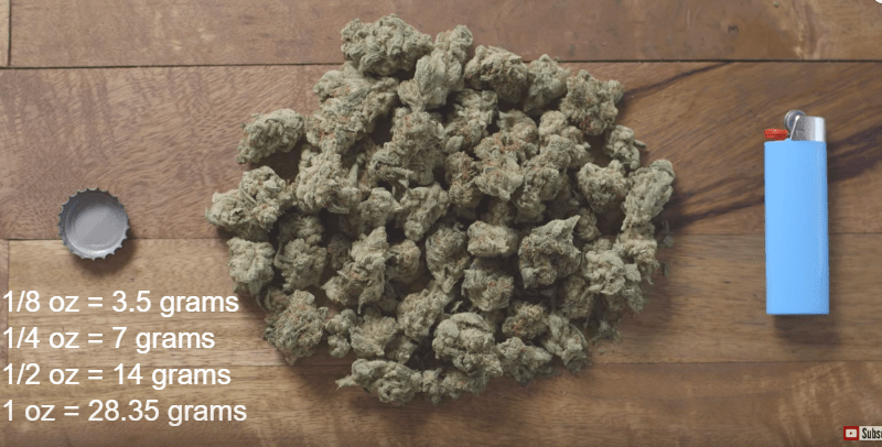 Cannabis 101 Visual Guide to Cannabis Quantities Leafly