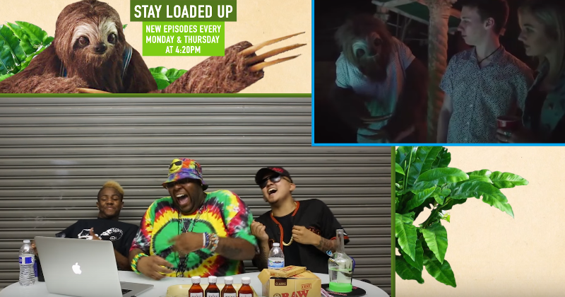STONERS REACT TO STONER SLOTH (Anti weed campaign) LoadedUP