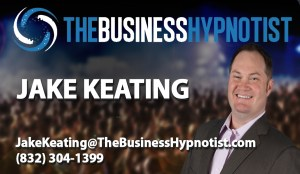 Business Hypnotist Card Template- Jake Keating